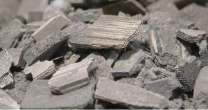 FIGURE 2.  Spent automotive catalysts contain valuable precious metals, such as palladium, platinum and rhodium BASF