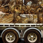 Figure 1. Scrap metal, along with scrap wood, spent solvents, used filters and used oils are among the high-volume waste streams that must be handled during the construction phase of a capital project