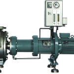 FIGURE 3. Simplified maintenance is a major advantage of dry-running, magnetically coupled centrifugal pumps; no complex modification work is required for pump replacement or commissioning
