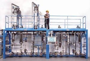 Pope Scientific, distillation