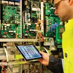 Figure 2.  The role of mobile devices has greatly expanded to better visualize system performance and improve worker efficiency
