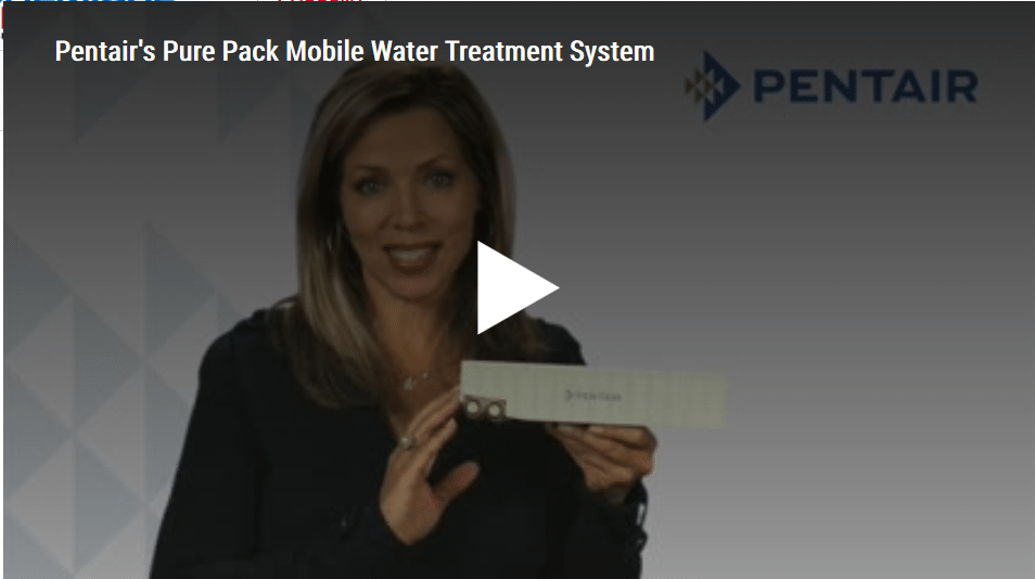 Pentair's Pure Pack Mobile Water Treatment System