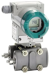 Figure 4.  Siemens Sitrans P DSIII digital pressure transmitter features ease of installation and set up, high accuracy and self-diagnostics and simulation functions  Siemens