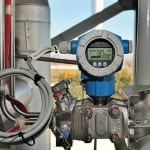 FIGURE 1.  Differential pressure is the most widely used level measurement method in the chemical and petrochemical industries
