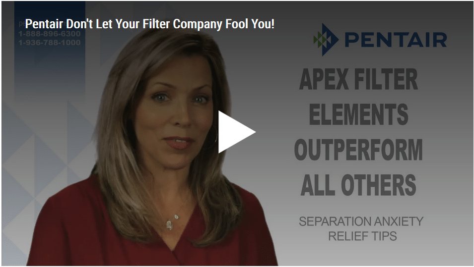 Pentair: Don't Let Your Filter Company Fool You