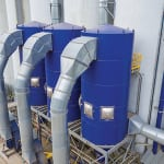 Figure 3.  To reduce energy usage, Schenck offers its MCF PowerSaver dust collector, which can save up to 50% of operational costs by using medium-pressure air for the cleaning cycle