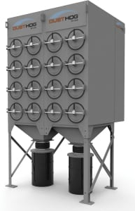 "Figure 4.  Parker's DustHog SFC dust collection units employ a pulse cleaning technology that ""pulses off"" dust from the filter"