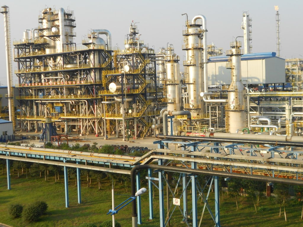 MTO unit, methanol to olefins