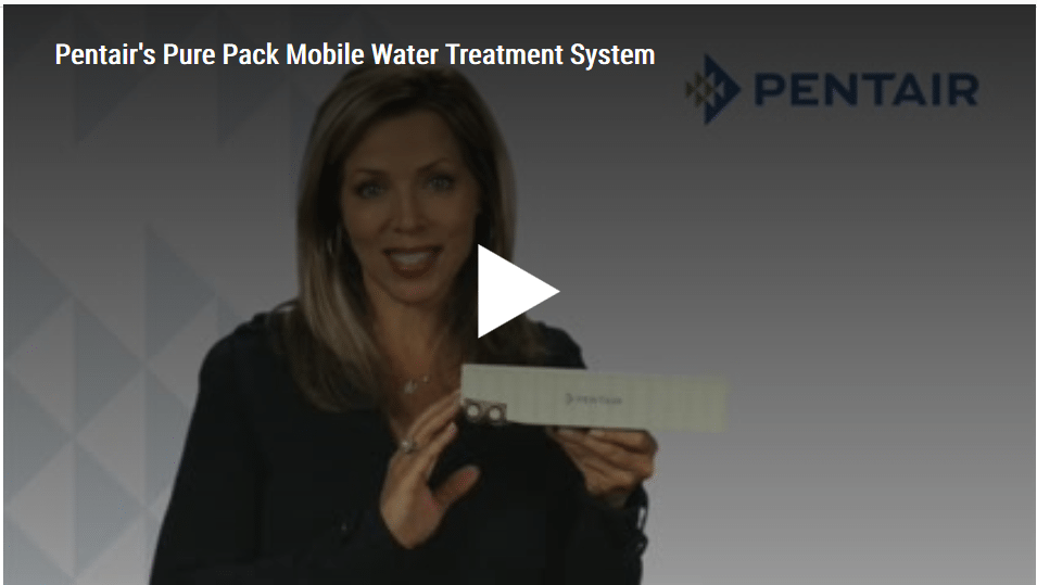 Pentair-  Mobile Water Treatment System for Process & Produced Water