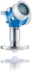 Figure 1.  Endress+Hauser's Micropilot FRM62 was designed for 80-GHz level measurement in aggressive liquids. The radar technology offers a completely PTFE-filled and flush-mounted antenna   Endress+Hauser