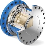 FIGURE 2. Friction plays an important role in ensuring the precision of hydraulically pressurized slipping torque limiters