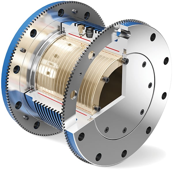 FIGURE 4. Slip-enabled couplings require no resetting, but should be used in conjunction with active monitoring devices