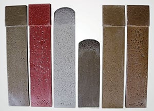 FIGURE 4. Pockets and voids in polymer grouts can cause problems, including uneven load distribution and ineffective vibration damping