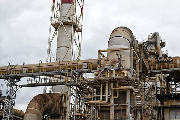Figure 1. Aging refineries are now dealing with highly corrosive feedstocks Emerson Automation Solutions