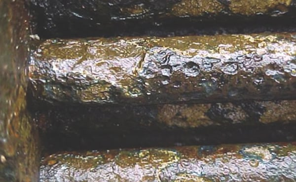 Figure 4. Corrosion in crude overhead Emerson Automation Solutions