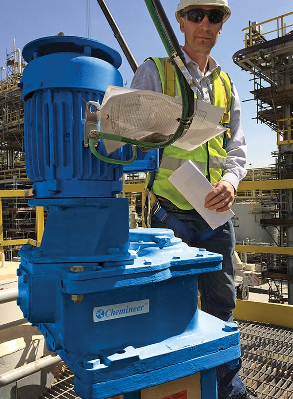 FIGURE 8. Trained field service technicians can facilitate the installation process and assist in the identification and correction of operational problems
