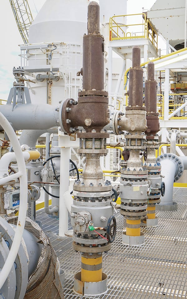 Figure 1.  Pressure relief valves are available from a variety of sources in a vast range of sizes, all providing the same basic functionality Emerson Automation Solutions