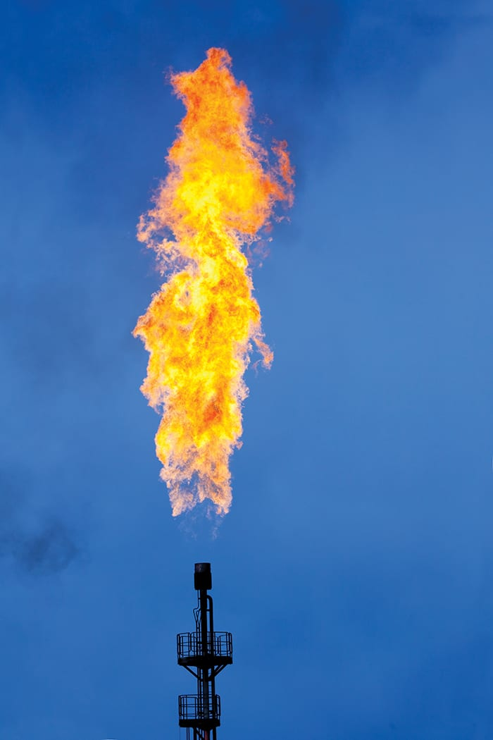 FIGURE 2. New emissions regulations are causing operators to seek alternatives to flaring during turnarounds