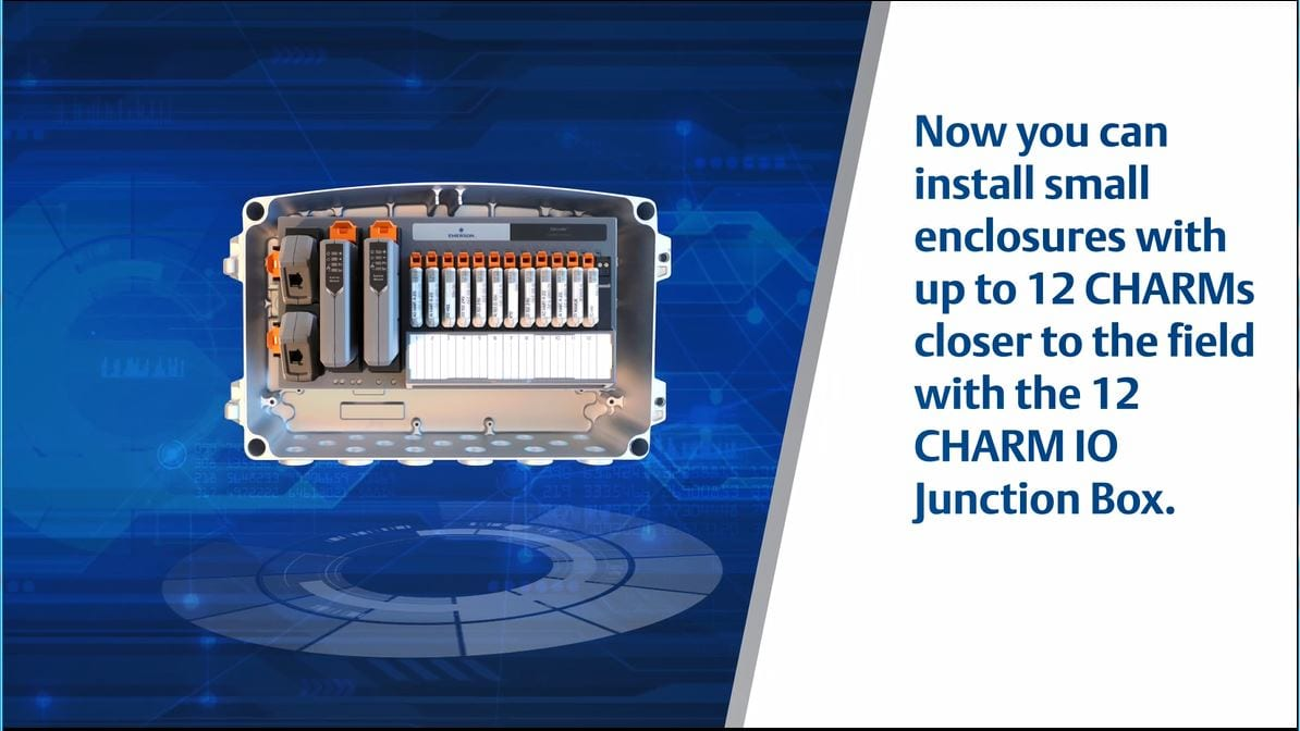 Reduce Installation Costs with Electronic Marshalling with Distributed CHARMs