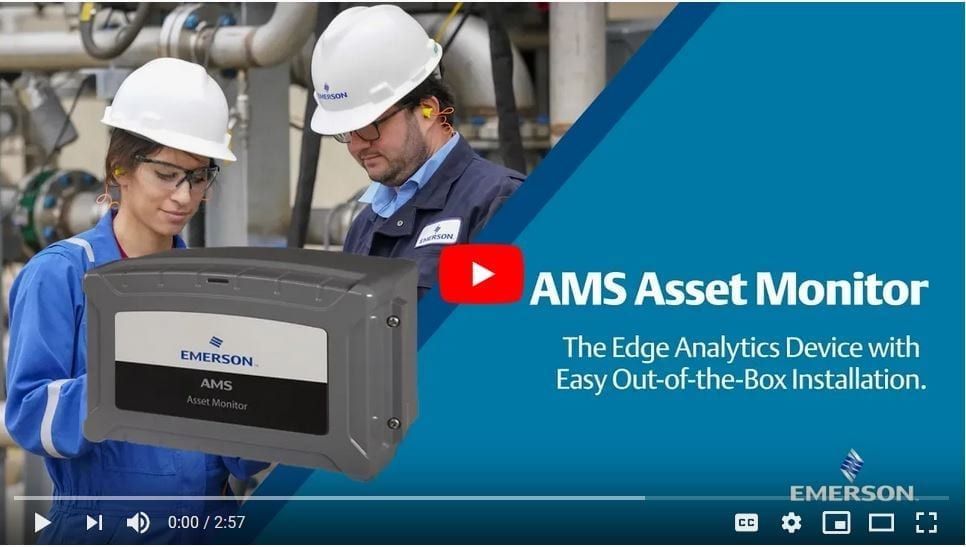 Easy Installation of the AMS Asset Monitor