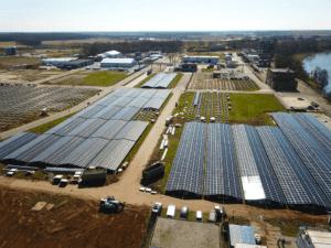 solvay solar farm