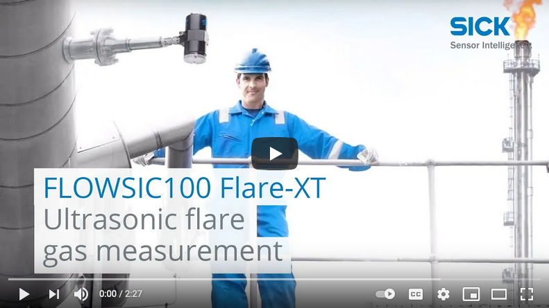 FLOWSIC100 Flare-XT: Ultrasonic flare gas measurement